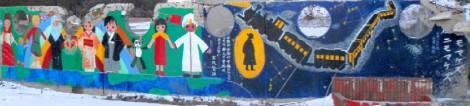 大川小壁画