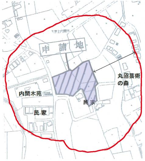 内間木地区墓地計画